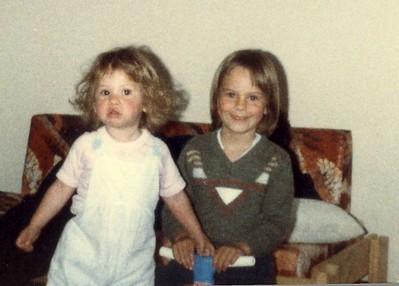 Lauren and Danielle 1985-86