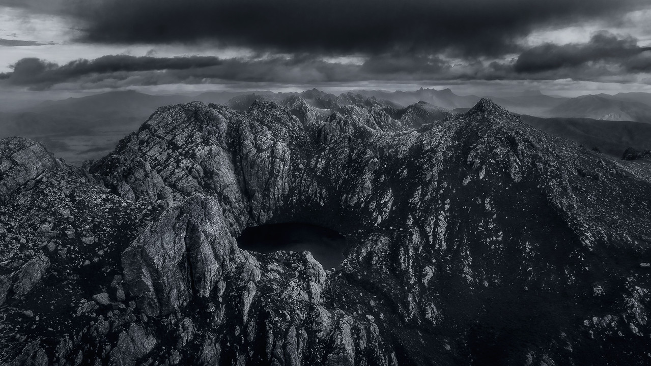 Western Arthurs from the air : Unfinished business!