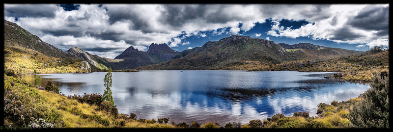 The lovely cradle mountain national park