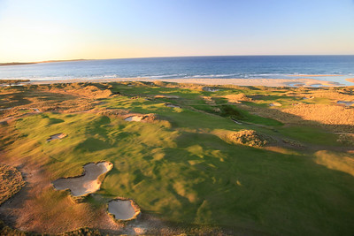 Barnbougle Dunes, Bridport, Tasmania, Australia - Hole 11 from the air
