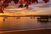 Peaceful Autumn Sunrise<br /> Hobart, Tasmania