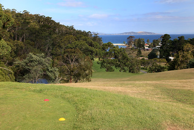 Kingston Beach Golf Club, Tasmania, Australia