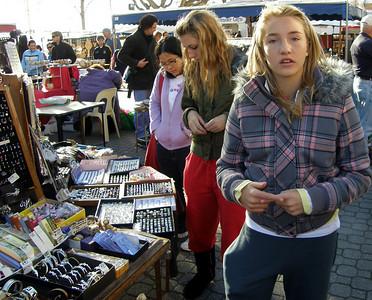 Salamanca market, Hobart - May 2007