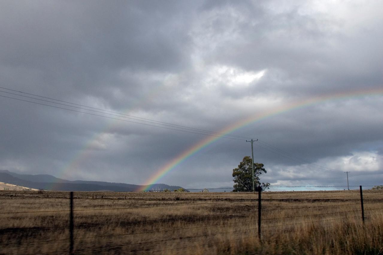 Double Rainbow - Tasmania, Australia
