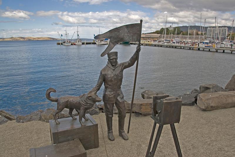 Explorer Monument - Hobart, Tasmania, Australia