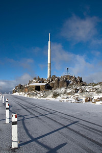 Antenna on Mount Wellington - Tasmania, Australia