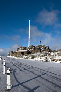 Antenna on Mount Wellington - Tasmania, Australia