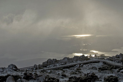 Hobart from Mount Wellington 2 - Tasmania, Australia