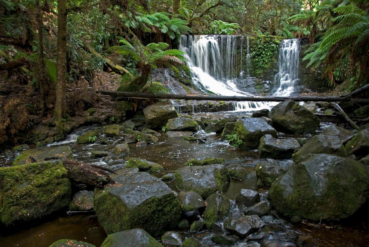 Horseshoe Falls, Mount Field National Park - Tasmania, Australia
