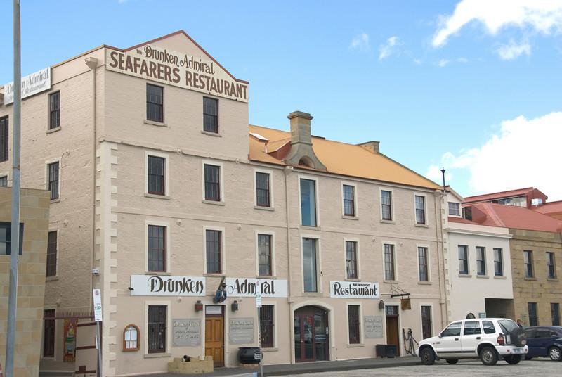 Building on the Harbor  - Hobart, Tasmania, Australia
