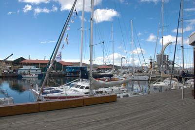 Ships in Harbor - Hobart, Tasmania, Australia