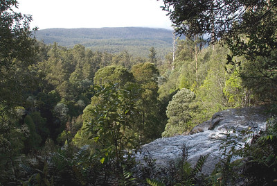 Top of Russell Falls 2, Mount Field National Park - Tasmania, Australia