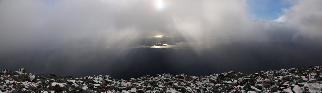 Mount Wellington Panorama - Tasmania, Australia