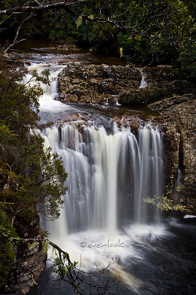 Pencil Pines Falls<br /> Cradle Mountain National Park<br /> <br /> Outside Cradle Mountain Visitor Centre ( 5 minutes walk )<br /> <br /> DM_9151