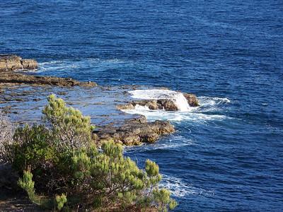 rocks near the shore, Eaglehawk Neck