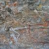 Anbangbang Shelter rock-art<br /> <br /> Anbangbang-i menedék rajza
