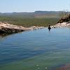 Lookout from Gunlom`s plunge pools<br /> <br /> Kilátás a Gunlom-i természetes medencékből