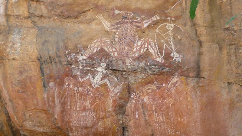 Nourlangie Rock art<br /> <br /> Nourlangie-i sziklarajzok