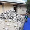 Visitor information in Mount Gambier. Those shells are left by aboriginal peoples.<br /> <br /> Mt Gambier infó központ kiállítása. Őslakosok által otthagyott kagylótörmelékek