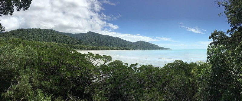 Cape Tribulation, where the reef meets the rainfores<br /> <br /> t