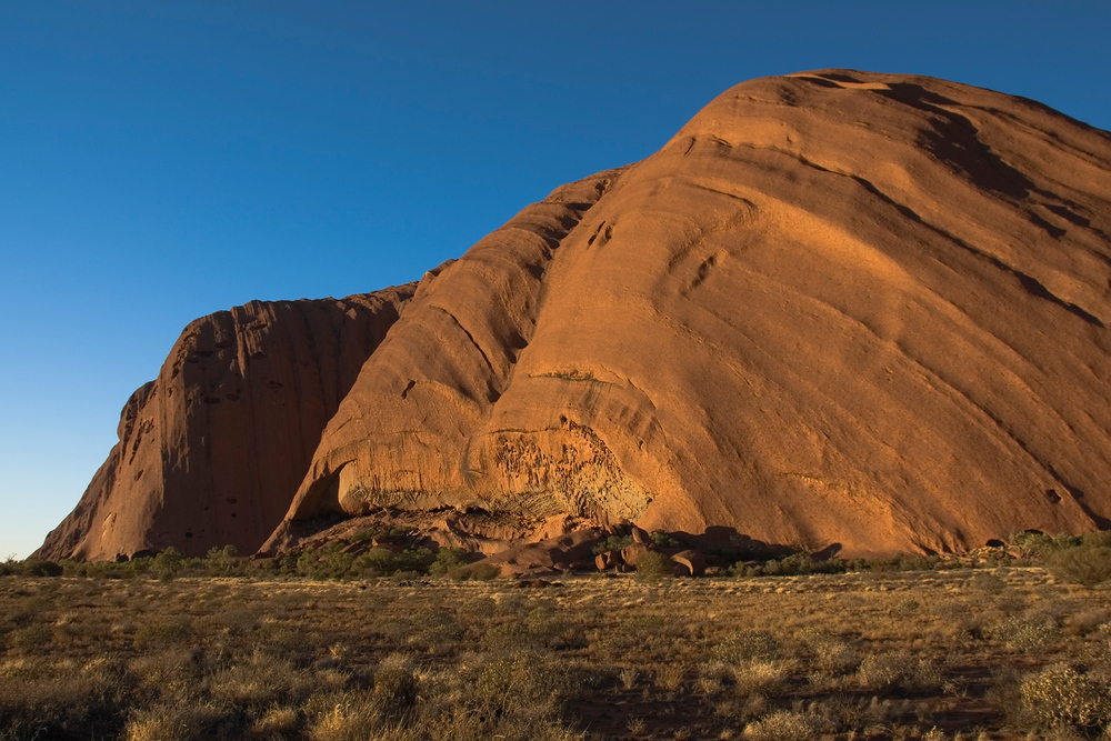 Uluru (aka Ayer's Rock) in the morning