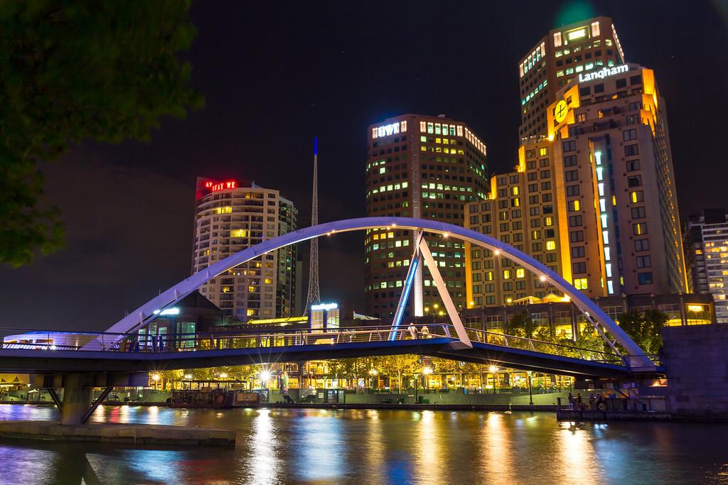 Southbank Footbridge, Melbourne