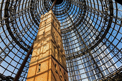Covered Dome over the Lead Pipe & Shot Factory, Melbourne Central Shopping Centre