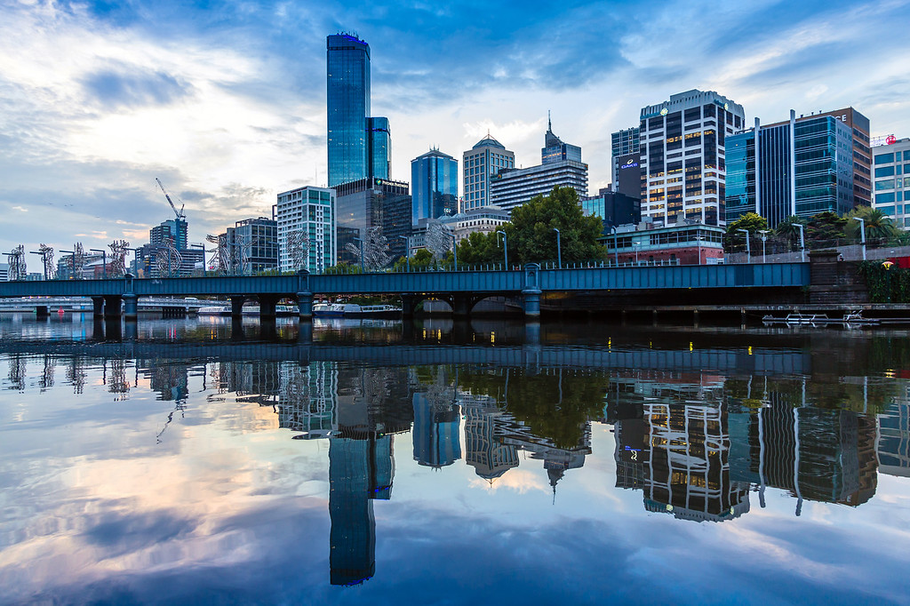 Yarra River Reflection