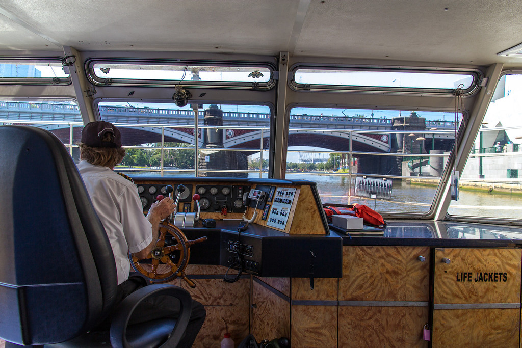 Yarra River Cruise, Melbourne