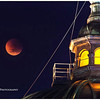 Lunar Eclipse & Flinders Street Station<br /> Taken from Federation Square