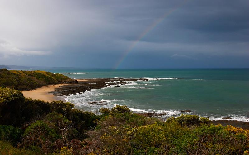 Rainbow, near Lorne