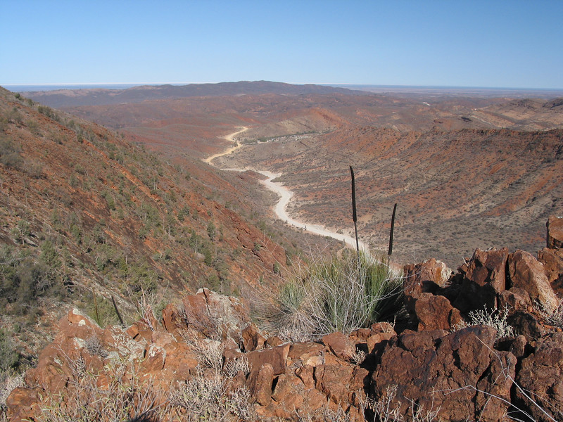 The road to Arkaroola