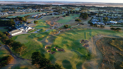 Thirteenth Beach Golf Links, Bellarine Peninsula, VIC, Australia