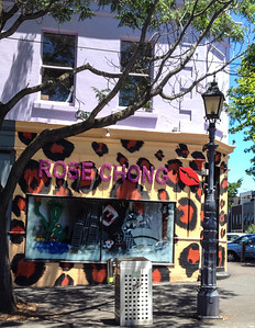 Rose Chong in Gertrude St, Collingwood