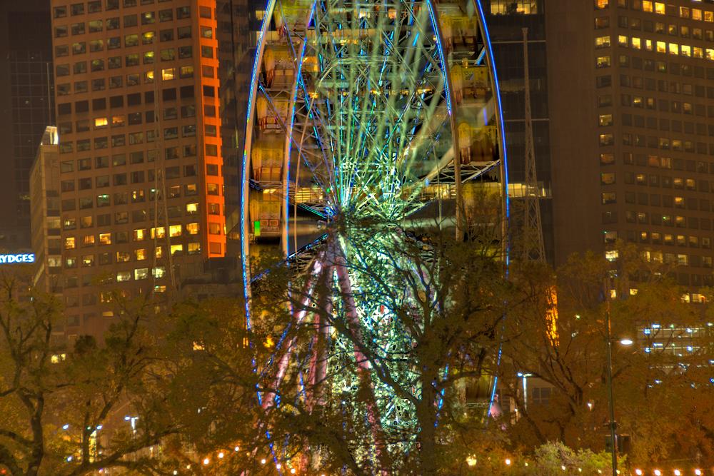 Ferris wheel at Moomba Festival, Melbourne, Australia