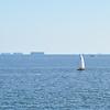 Cargo ships at the bay<br /> <br /> Teherhajók az öbölben