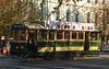 Bendigo`s sight seeing tram<br /> <br /> A bendigoi városnéző villamos