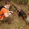 Krisz and an echidna<br /> <br /> Krisz és az erszényes sün