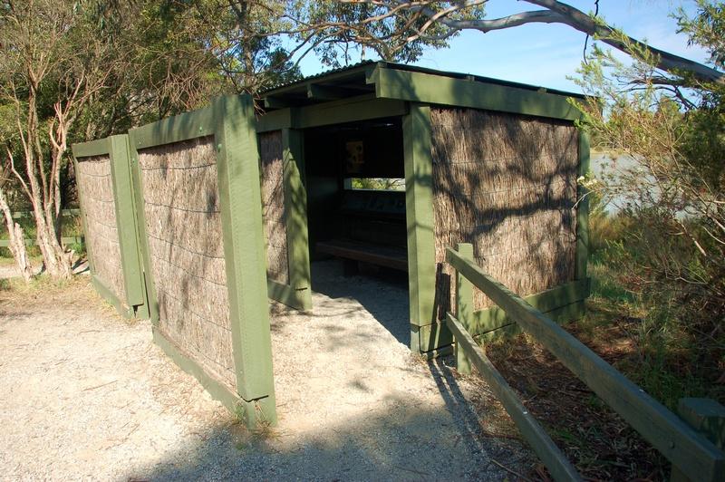 Bird-watching shelter<br /> <br /> Madár megfigyelő házikó