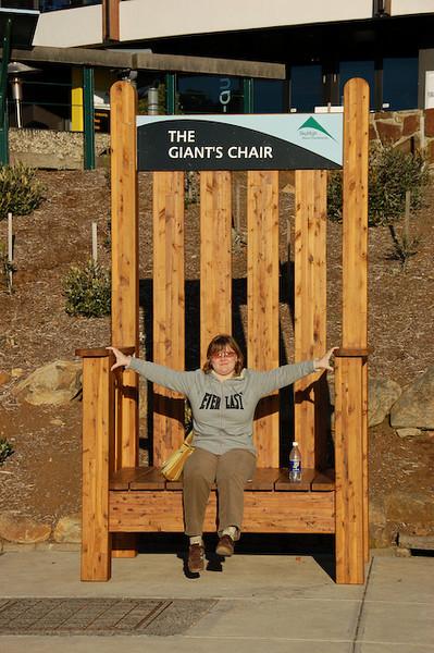 SkyHigh Giant's chair<br /> <br /> Óriások széke