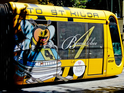 Bumblebee 4 takes you to St Kilda from the CBD
