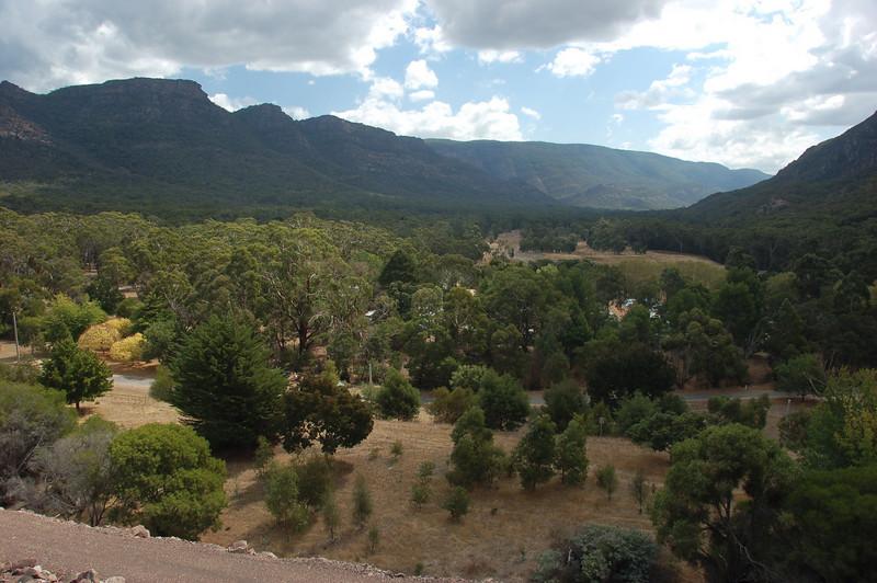 The valley from the dam<br /> <br /> A völgy a gátról nézve