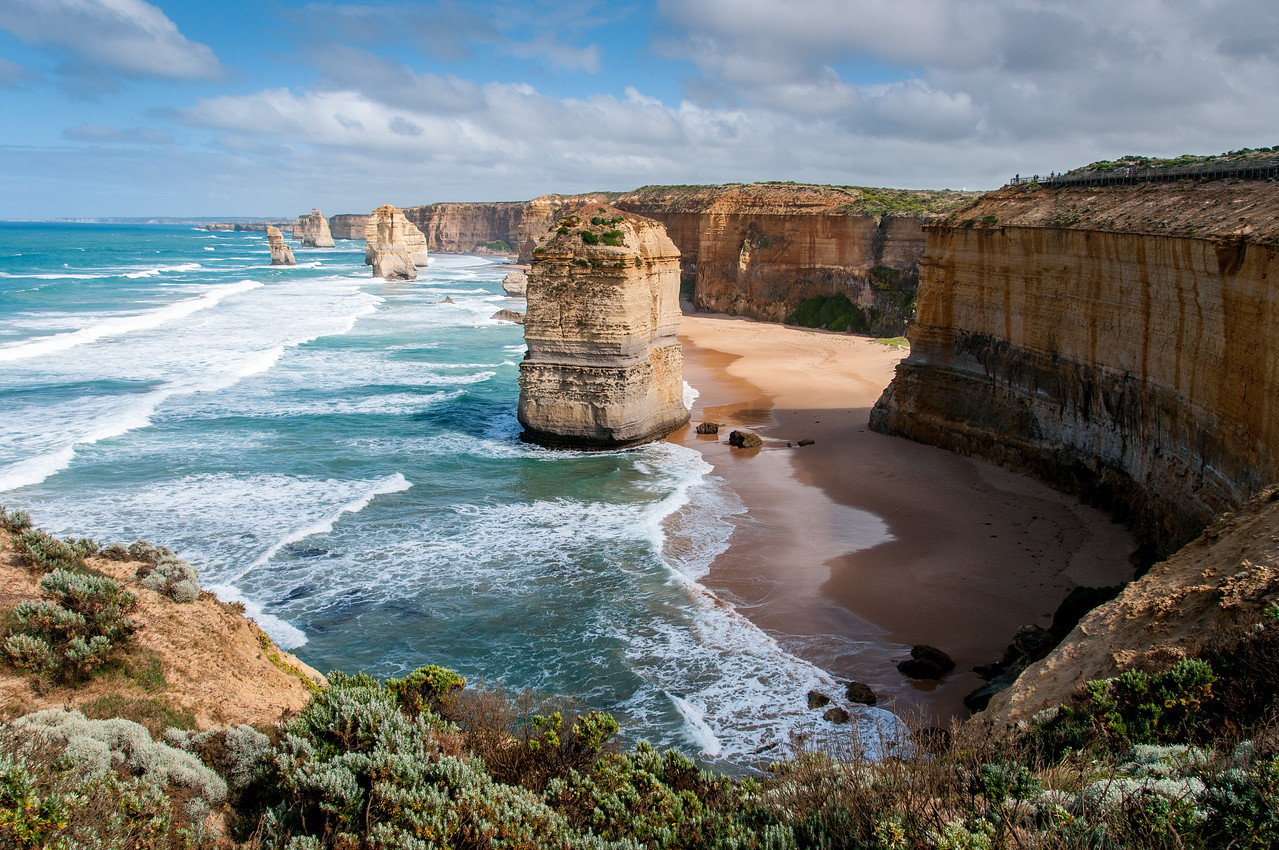 Twelve Apostles at the Great Ocean Road - Victoria, Australia