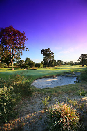 Kingston Heath Golf Club, Victoria, Australia