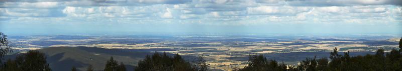 View from Mount Macedon Memorial Cross<br /> <br /> Kilátás a Keresztfa mellől