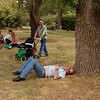 Exhausted tourist in the zoo<br /> <br /> Elfáradt túrista az állatkertben