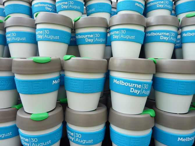 Melbourne Day Coffee Cups