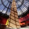 Cupola of Melbourne Central<br /> <br /> Melbourne Centrál kupolája