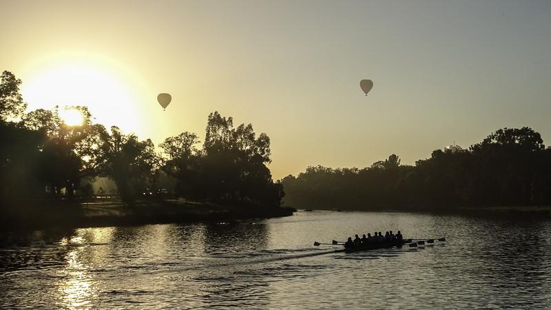 Sunrise on the Yarra