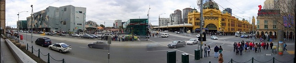 Federation square<br /> <br /> Államszövetség tér